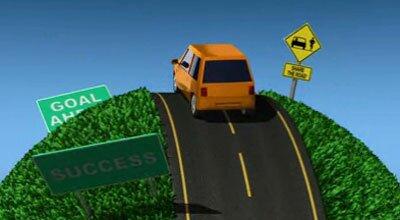 Езда по дороге