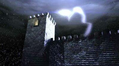 Гроза, замок