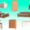 Мебель по-английски
