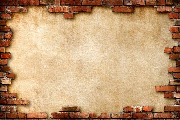 Фоны для презентаций - кирпичная стена 2