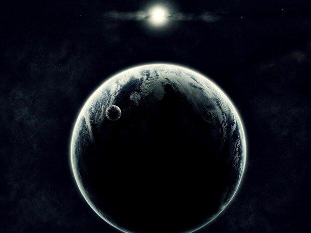 Фоны для презентаций - космос и абстракция 15