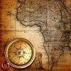 Фоны для презентаций - компас и карты
