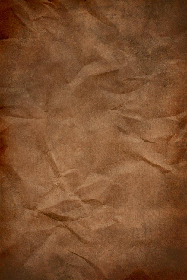 Смятый листок бумаги