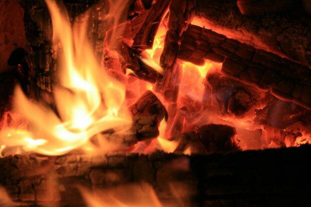 Разгорающиеся угли