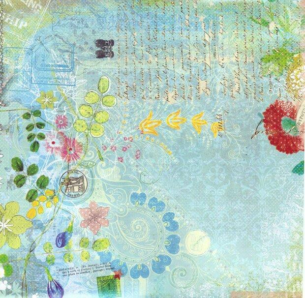 Письмо с цветами