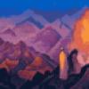 Рерих - картины про горы - презентация