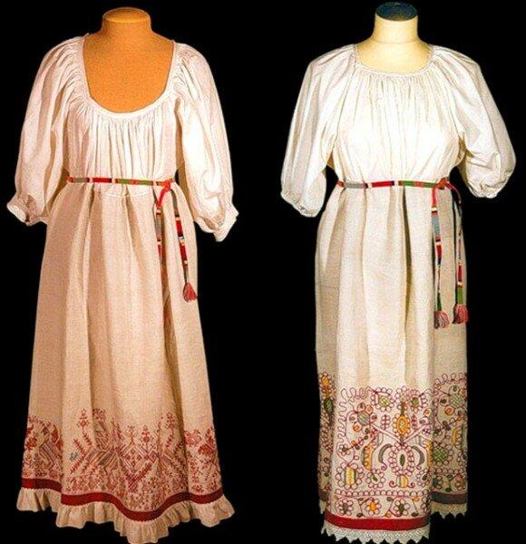 Славянская женская одежда