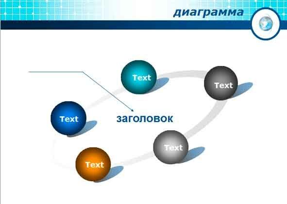 Шаблон презентации Анализ и диаграммы - основная часть