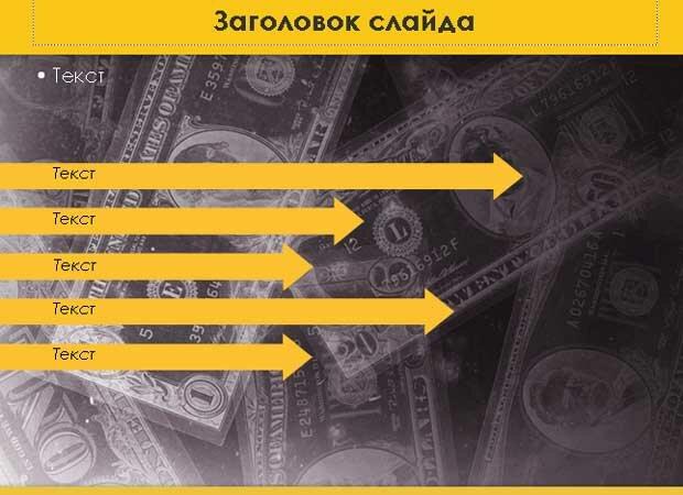 Шаблон презентации Денежная система